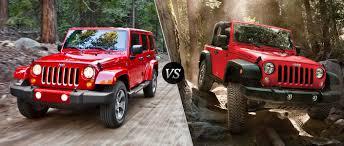 jeep wrangler vs jeep wrangler unlimited ultimate rides