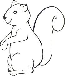 slow moving squirrel coloring pages for kids fl0 printable