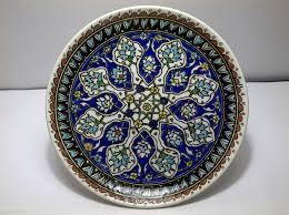 Ottoman Pottery 14k Yellow Gold Created Opal Fiery White Stud Earrings