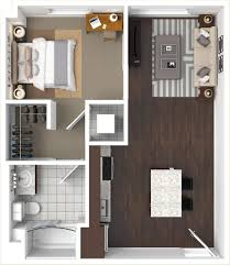 1 bedroom floor plan floorplans the cadence tucson