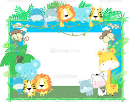 jungle theme border clipart china cps