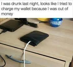 Meme Wallet - drunk nights meme by newera memedroid