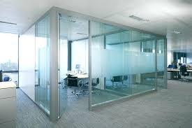 Modern Glass Office Desk by Sunny On Modern Glass Office Windows Building Interior