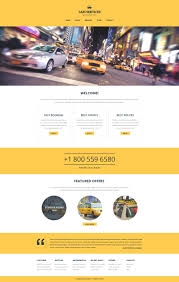 website bug report template taxi responsive website template 51252 taxi responsive website template