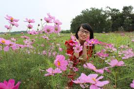 flower red river ground attracts a lot of visitors hanoi online
