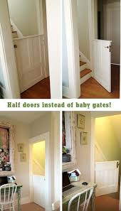 build your own baby gate this is great for the bottom of the