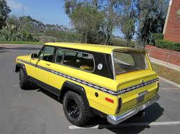 jeep wagon for sale 1977 jeep cherokee chief for sale classiccars com cc 736277