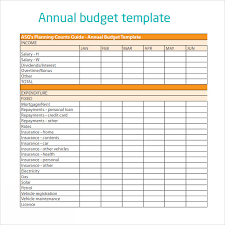 Excel Personal Budget Template 28 Annual Business Budget Template Excel Deluxe Budget