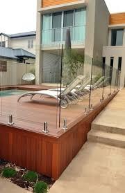 Stainless Steel Handrails Brisbane Brisbane Pool Deck Glass Balustrade Stainless Steel Spiggots