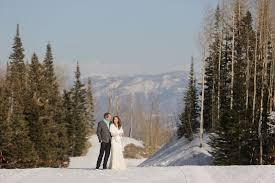 mountain wedding park city utah winter mountain wedding rustic wedding chic