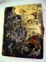 Victorian Photo Album Vintag Celluloid Portrait Photo Album Victorian Scenic Albums