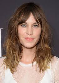 length curly haircuts with bangs 2017