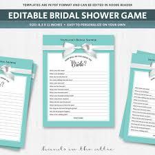 bridal shower question bridal shower trivia questions bridal shower question question
