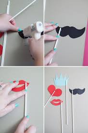 diy photo booth props learn how to make your own photo booth stick props