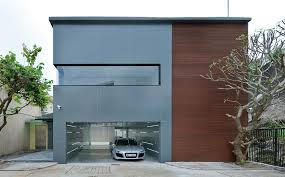 technology garage sustainable house design paying tribute to modern technology in hong