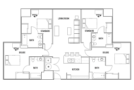 bath floor plans floor plans u club binghamton student housing vestal ny