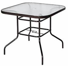 Tempered Glass Patio Table Cloud Mountain 32 X 32 Outdoor Dining Table