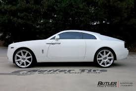 rolls royce wraith sport rolls royce wraith with 24in avant garde agl22 wheels exclusively