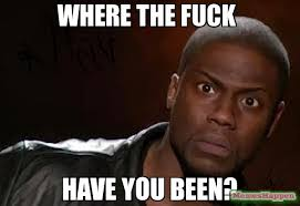 Meme Fuck You - where the fuck have you been meme kevin hart the hell 13097