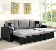 modern u shaped sectional furniture black small leather sleeper