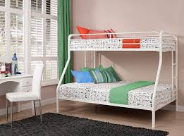 Metal Bunk Beds Full Over Full Dhp Furniture Twin Over Full Bunk Bed