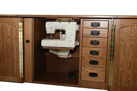 solid wood sewing machine cabinets amish furniture heartland sewing machine cabinet sewing