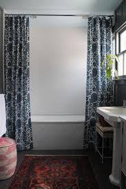 Small Bathroom Shower Curtain Ideas Best 25 Two Shower Curtains Ideas On Pinterest Kids Bathroom