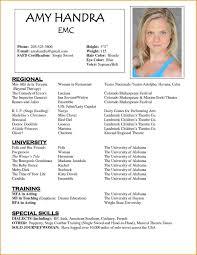 skills based resume template acting resume template captivating 9 acting resume template free