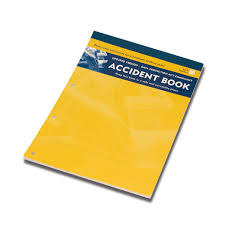accident reporting book equipment