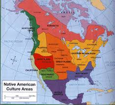 4 american cultures map maps and images hub mr crossen s history site