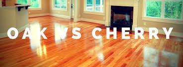 oak vs cherry hardwood floors floors