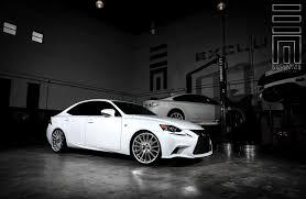 white lexus is 250 diamond white lexus is250 f on vossen rims by exclusive motoring