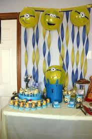 minion baby shower decorations minions decorations best happy 1 images on interior design