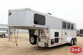 Used Horse Trailers For Sale In San Antonio Texas 2017 Sundowner Santa Fe 3 Horse Gn Lq Super Sport Trailer D U0026d