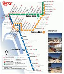 Map Of San Diego by San Diego Subway Map Map Travel Holiday Vacations