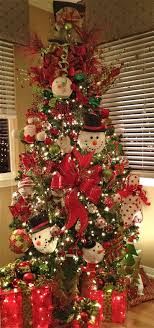 snowman christmas tree christmas tree designs and decor ideas for 2014 15 design trends