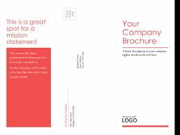 microsoft tri fold brochure template brochures office free