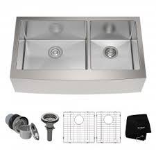 double basin apron front sink apron farmhouse kitchen sinks stainless steel kitchen sinks