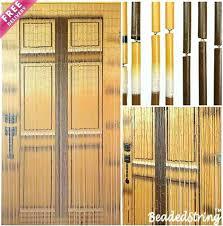Bamboo Closet Door Curtains Bamboo Closet Doors Bamboo Door Curtains Sale Sold Out Beaded
