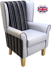 wingback chair winged armchair high back chair high seat chairs