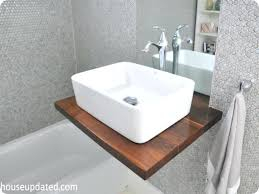 sinks kohler brockway trough sink uk bathroom floating trough