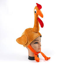 turkey hat 2018 thanksgiving stuffed plush gobbler turkey hat cap costume