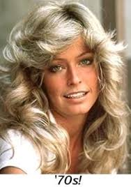 farrah fawcett hair cut instructions farrah fawcett s famous hairstyle yesteryears pinterest