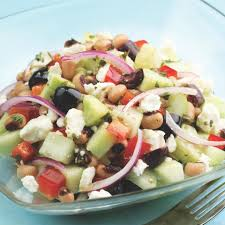 cucumber u0026 black eyed pea salad recipe eatingwell
