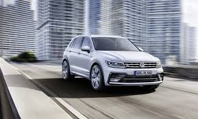 volkswagen tiguan white vw tiguan will receive 7 seater and coupe version ultimate car blog