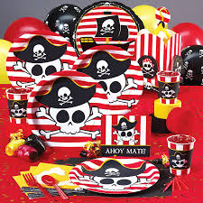 pirate party supplies buccaneer pirate decorations boy party ideas