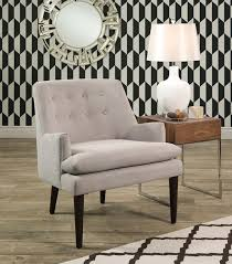 Grey Accent Chair Chairs Baron Accent Chair Grey