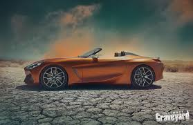bmw concept car bmw top secret z4 concept car shoot ultimate graveyard