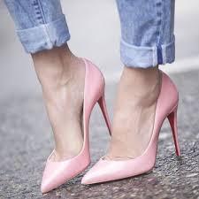 Light Pink Pumps Beautiful Stilettos Light Pink High Heel Pumps