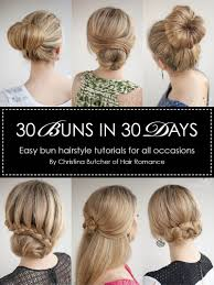 30 buns in 30 days ebook hair romance